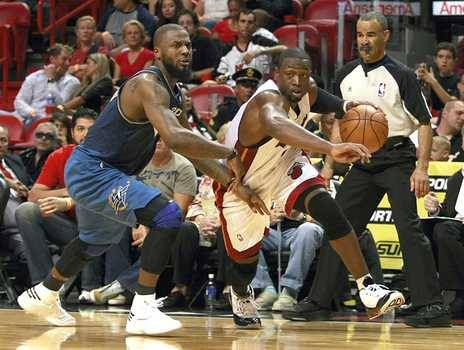 Player of the Night honors go to D-Wade of the Miami Wades. He went off for 41pts(14 in the 4th qtr.)/5 Rebs./5 Asst./3 Steals and a block for good measure. My feeling is that Miami is going to be a major player this Summer, maybe even the Summer after that, by aggressively surrounding Wade—an assassin on both ends of the court—with three key pieces: An All Star quality front-court player. More on this below.  The requisite sniper off the bench who can can play off the ball along the perimeter and knock down threes, negating Wade's constant double team dilemma  That defensive stopper off the bench to provide support for 15-18 mins. a night on one of the opponents top offensive threats  Now I've mentioned once before that Lebron has to look at the situation in South Beach with an admiring eye. All King James rumors start with the Knicks, with the Nets a close second & seemingly just as attractive for a variety of reasons. So, lets talk dollars & basketball sense. While the Big Apple is certainly alluring, & the Cavs can offer him an extra year at around $30 million more over the life of his next payday, keep in mind that FLA has no state income tax. That makes up for $10 million(at a minimum) of that $30 mill diffference, which is nice. Yet, does that coin really matter to a revenue machine like James? Maybe. Maybe not. Plus he'd be very hard pressed to find a better player to help him dominate the league over the next 5 years than D-Wade. Now, if I'm not persuasive enough, how about Marc Stein at ESPN  Heard it from someone plugged into the Team USA scene this week. From a prominent player agent. From an Eastern Conference team official, too. Move Miami up your list. That's the advice I'm getting more and more. No doctorate required to understand the thinking, either: Miami's combination of Dwyane Wade, Pat Riley, sufficient cap space to sign one max player and the bonus attraction of South Beach adds up to an offer LeBron might not be able to refuse. Did we mention D-Wade? The long-held assumption around the league called for Riley — forever married to the idea that you win nothing without a dominant big man — to try to sign Bosh away from Toronto to partner with D-Wade, helped along by the fact that Bosh and Wade are both represented by Chicago-based agent Henry Thomas. Yet one source close to the situation told ESPN.com on Thursday night that the theory is outdated. The source is further convinced that Bosh isn't even looking at Miami and that Riley is definitely dreaming of a Wade-and-LeBron combo. Michael Beasley might be the only other NBA-worthy starter besides Wade on the Heat's roster come July — and Beasley obviously still has plenty to prove — but surely James will be tempted. Think about it. Let's not overstate the chance to work with Riley or the South Beach factor but instead focus solely on the opportunity to hook up with his fellow 2003 draftee and form what might be the most dynamic perimeter tag team of all-time. At worst? LeBron and Wade could sure put a modern/scary/spectacular spin on the Jordan-and-Scottie Pippen concept. I'm starting to get the vibe that the Cavs know it, too.  Wow. Convincing right? So with my theory in place how does a 2010-2011 line up consisting of Mario Chalmers, Wade, Lebron, Beasley, & someone from the free agent pu-pu platter of centers like Jermaine O'Neal-Joel Przybilla-Channing Frye-Brad Miller-Zydrunas Ilgaukus-Brendan Haywood look? Pretty appealing right? Throw in some combination of players like Raja Bell, Roger Mason, Steve Blake, Travis Outlaw, Kyle Korver, or free agents X, Y, Z, and the days of 65% capacity at Heat games may be a thing of the past.