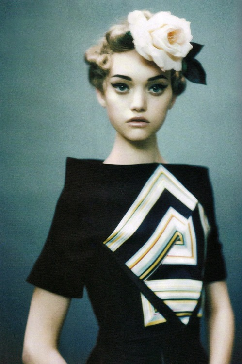 bohemea:  Gemma Ward - Vogue Italia