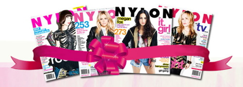 What I really want for Christmas? Oh, Nylon… Merry Christmas x