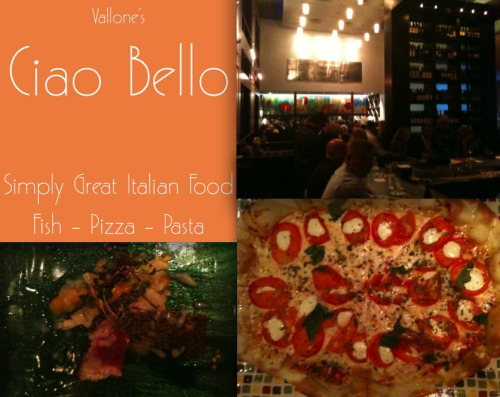 If You Build It, Patrons Will Come  — Ciao Bello (Houston, TX) There are no points for second best when your last name is Vallone. So when the Vallones say they are opening the doors to a rustic Italian pizzeria, locals expect a home run on the first at bat. In my opinion, Jeff Vallone has two strikes with his latest venture Ciao Bello and has not met the standard set by his father Tony (of the famed Tony's). Strike one comes in the atmosphere and aesthetic.  I wouldn't expect them to renovate the space once occupied by Jimmy Wilson's, but they did not prepare for the extra patrons and the noise they would bring.  The high ceilings amplify conversations to the point where no one can't hear the waiter yelling the specials.  You might not notice people are speaking so loudly if the lights were a bit lower.  Jeff maintained the Tony's tradition of keeping the lights up, but at Ciao Bello the lack of décor demands you lower the lights. As for the food, it fell just short of greatness.  We ordered an array of dishes — the famous artichoke, a classic margarita pizza, a new seared tuna dish, chicken, and a few others to get a full sampling.  None of it was up to snuff.  The flavor of the pizza was divine, but the crust that looked thin and crunchy we found to be greasy and limp.  We asked the waiter to recommend wine, but he was so unfamiliar with list, he didn't even recognize the one we chose. Oh yes, bread and water would be lovely after we finish the meal. (Ok, now I'm picking a fight.) Despite all of these errors, I'm not counting Ciao Bello out yet.  Due to the Vallone's standard of service and familiar faces I recognized from Tony's (that's you Scott!) working the crowd and guiding the service, I believe Jeff will have the place running like clockwork soon and make his father proud.