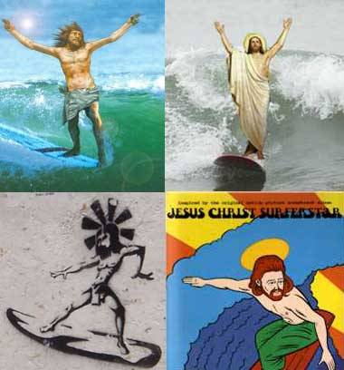 JESUS SURFED FOR YOUR SINS If you believe in God but you find the seriousness of academic and spiritual study boring and you're the kind of six-foot dude who wears flip-flops and and likes Mambo and is broadly in favor of peace and shanti shanti and likes Christ's vibe, then the Bola de Neve church may interest you. Created in 2000, this Christian surfing church comes from Brazil and has more than 100 temples in the country. Inevitably this church is drifting to the douche meccas: Sydney and California. We spoke to a parishioner, Manoel Mattos, who is a 30-year-old Brazilian living in Sydney.