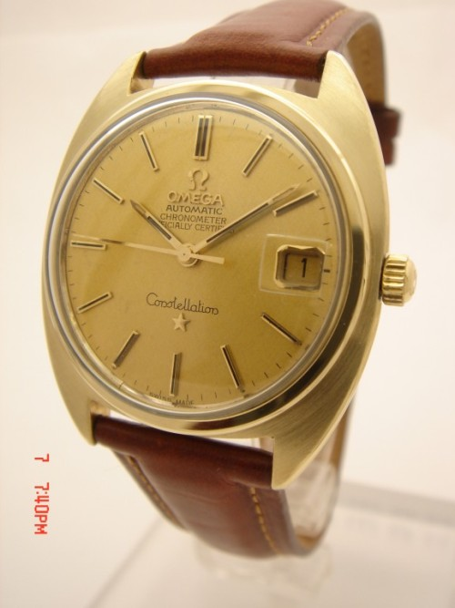 It's On Ebay! Vintage Omega Constellation in 14k Gold Started at $9.99; ends Tuesday