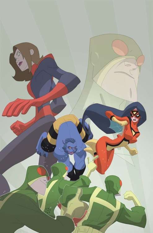 Marvel Adventures Super Heroes #16 cover by Sean Galloway