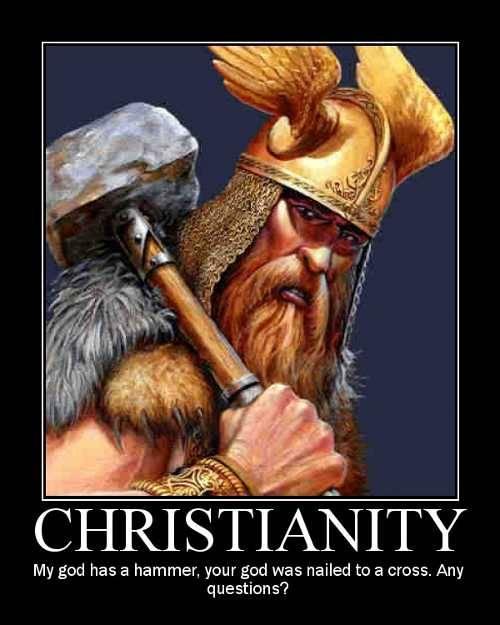 Christianity  fuckyeahslightlyamusing:  vaeltaa:  ruryon: