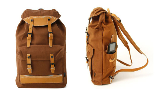 This is pretty much the platonic ideal for Backpack. Porter Rigby Rucksack via Inventory