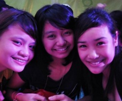 Trish Me and Lyn at GP last Thursday ;)