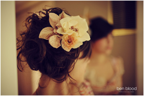 Be sure to wear some flowers in your hair. photographer: Ben Blood // zoella