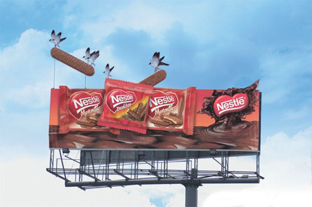 Simply Brilliant fuckyeahads:  Nestle billboard