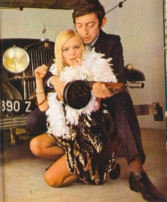 pitchinwoo:  Serge Gainsbourg and France Gall