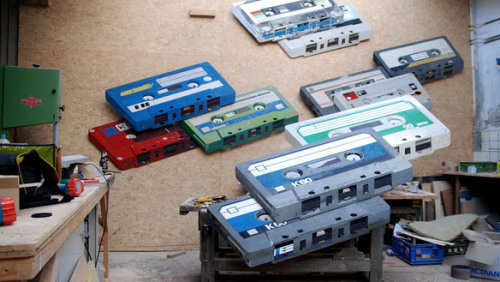 Either they are very big tapes…or it's a very small woodshop… Ron van der Ende | Motherboard