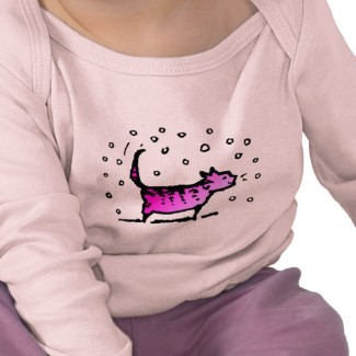 Cute pink cat baby clothes http://www.wix.com/PaulStickland/Baby-Clothes