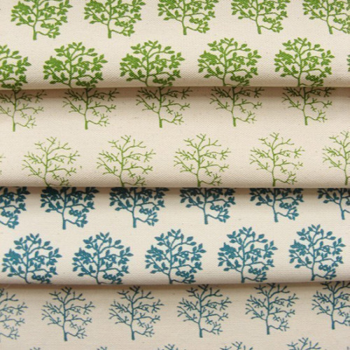 Fab Fabrics: Organic Cotton Screenprinted by Showpony : Crafting a Green World