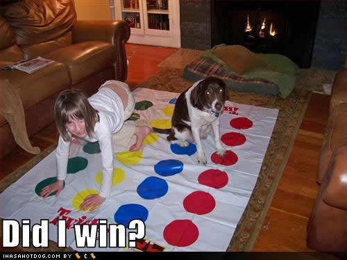 Twister: Did I win? funkitchen:  HAHAHAHAAH, foda.