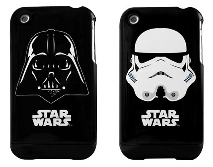 Geek WANT of the day: official @StarWars iPhone cases. Very nice. Buy 'em here. (via Gizmodo)