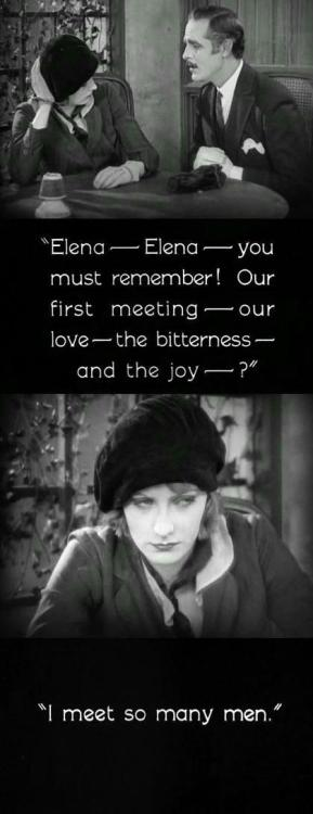 The Temptress (1926, dir. Fred Niblo, starring Greta Garbo)