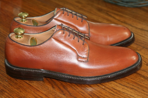 It's On Ebay! Nettleton plain-toe bluchers.  Made in the US of A.  Suitable for stomping on just about anything. Starting at .99, ends Sunday