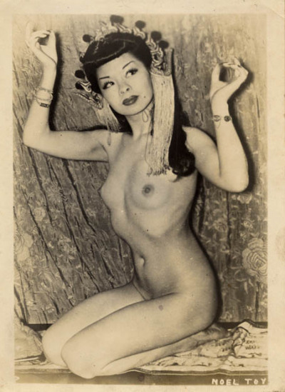 vintagegal:  Noel Toy 1940's burlesque dancer