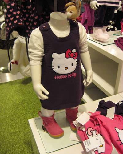 Hello Kitty Dress for girls at H&M