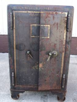 1906 Antique Mosler Safe