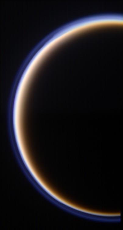 Saturn's moon Titan.  From the Cassini's recent flyby.