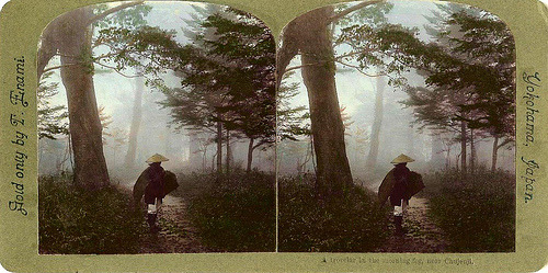 weregoodtogether:Some amazing stereograms taken in the Meiji and Taisho periods in Japan by T. Enami.