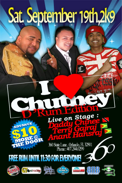 "USA - ""I Love Chutney."""