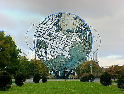 Unisphere of Flushing Meadows Park, NY