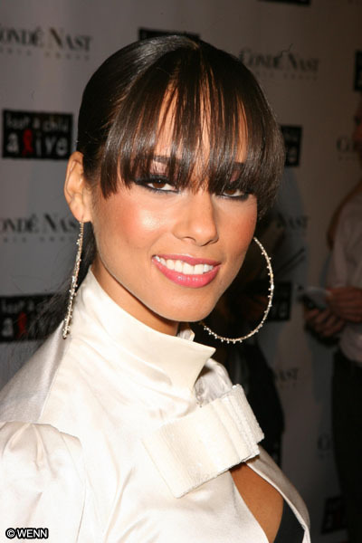 loved her bangs.