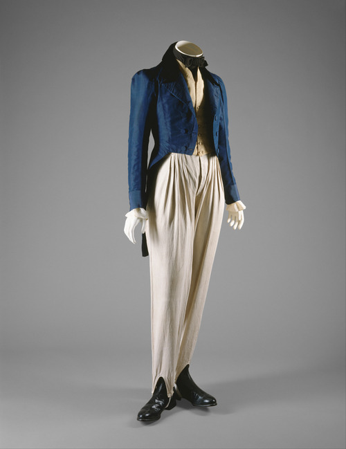 Coat, circa 1833, made in London, England. [Metropolitan Museum of Art]
