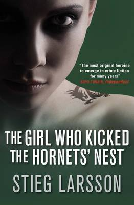 #46: The Girl Who Kicked the Hornet's Nest by Stieg Larsson Finally finished this series because a friend smuggled it back from Europe. Hooray! It wrapped up a very long story line in the form of miraculous medical recoveries, exciting courtroom drama, and political conspiracy. One of the things I've found interesting about the series as a whole though is that although the plot changes, the characters don't exhibit redemption or a shift in personality. They pretty much stay the same throughput the three books, which isn't so bad, just unexpected. I liked the ending here with all the legal battles (I've always wanted to be on a Grisham-style jury), which was fun to read but when the characters got emotional, I didn't believe it. They tend to always be slightly standoff-ish even when they're supposed to be in love, or in pain, or just generally freaking out. Maybe that's a cultural or translation thing, I don't know. Either way, as a crime novels go this whole series is pretty top notch - thrilling, suspenseful, and eerie to the core. Side note: This weekend I got my hands on the orginal Sweedish movie of The Girl with the Dragon Tattoo. It is creepy as all get out and not recommended for those with weak stomachs.