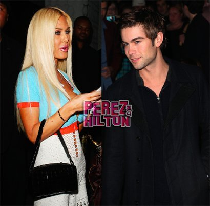 "Is it true?!?! Chace Crawford and Lorenzo Lamas' ex/porn star Shauna Sand reportedly had a hot little romance together back when the Gossip Girl hottie was only 18 years old after meeting at a college party in Malibu. Shauna says: ""He was so incredibly beautiful — I immediately fell in love with him! I even gave him a key to my apartment."" Supposedly they dated on and off for a year despite their 14-year age gap and split for good once his acting career took off and Shauna got remarried. A friend of Chace's revealed: ""Chace told me, 'Shauna was the first girl I ever had sex with! She blew my mind, and I'll never forget it!'"" We can see how an older woman could be appealing, Chace, but you can do so SO much better! Also we're not really buying that smoking hot Chace was a virgin until he was 18! via"