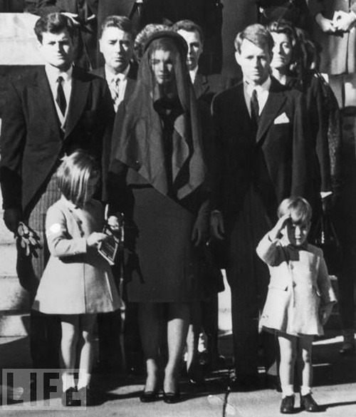 "November 25th was also the 3rd birthday of John F. Kennedy Jr. ""On Monday morning, the day of the funeral, RFK was somber and composed. Outside St. Matthew's, when little John F. Kennedy Jr. raised his tiny hand to salute his slain father, RFK's face could be seen constricting in pain."" - From Robert Kennedy: His Life by Evan Thomas (a great book I'd recommend to any Bobby fans)."