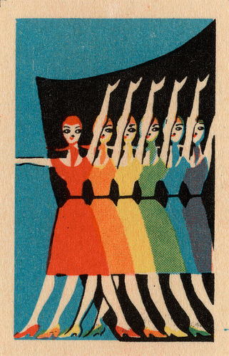 russian matchbox label via maraid