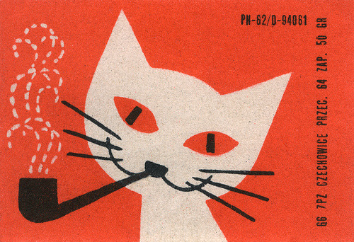 polish matchbox label via maraid