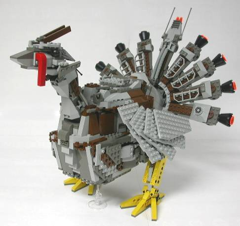 LEGO mecha turkey via brickfrenzy.com. Happy Thanksgiving!
