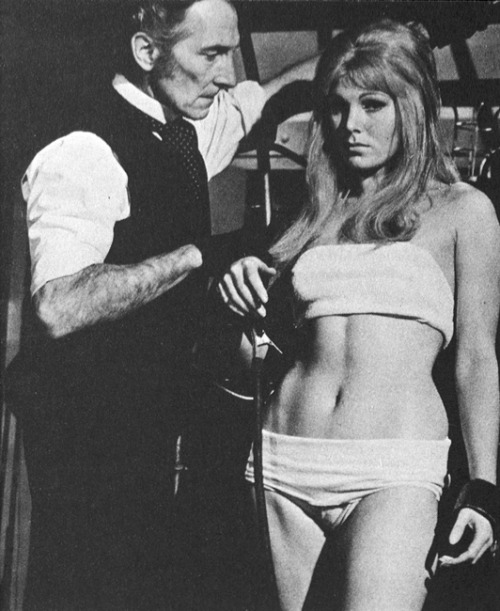 retrodoll:  Susan Denberg Frankenstein Created Woman 1967