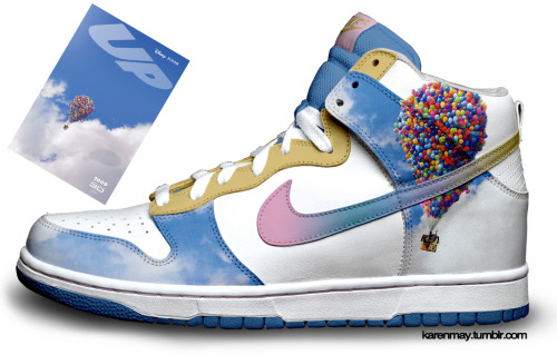 xlinddaaa:  fuckyeahnikes:  custom UP dunks :]