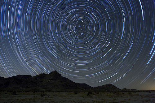 Leonids Star Trails (via Andrew Meyers Photography)
