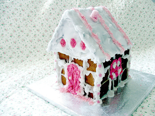 Are you making a Gingerbread house this year? Any tips or tricks? xo  (via hayleycakes)