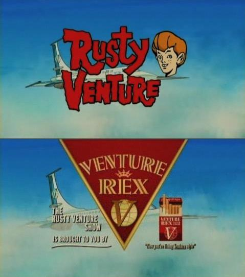 Rusty Venture…brought to you by smoking! The Venture Bros, 3x11: ORB