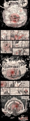 SPERA, the most beautiful online comic ever. www.spera-comic.com   watercolors, copic markers, copic multiliner August 2009
