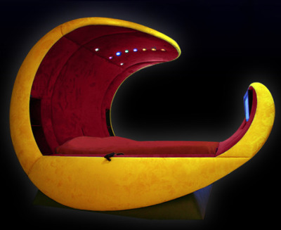 Luxury Bed Design - Cosmovoide luxury beds flex to your body shape