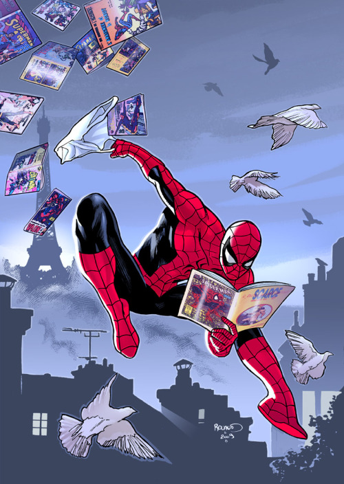 Spider-Man - SCARCE #73 cover art by Paul Renaud