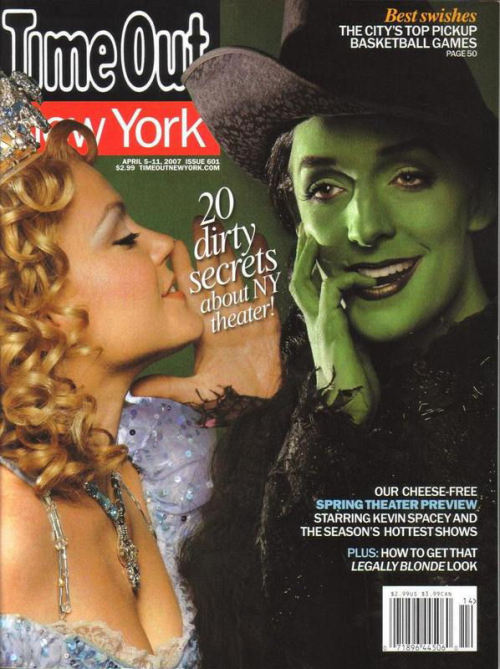 sufointhehizzouse:  wickedinpix:  Kendra Kassebaum and Julia Murney on the cover of TimeOut New York Magazine.