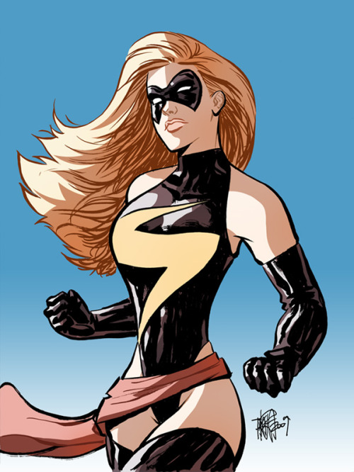 Ms. Marvel by Marcio Takara
