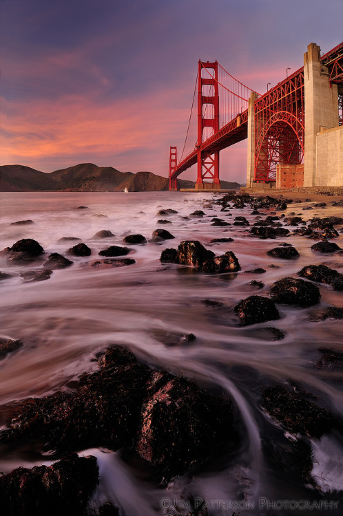 Golden Gate Bridge Sunset - Jim Patterson Photography