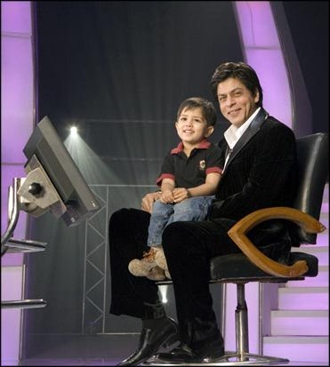 "I think srk does the indian ""who wants to be a millionaire""..?"