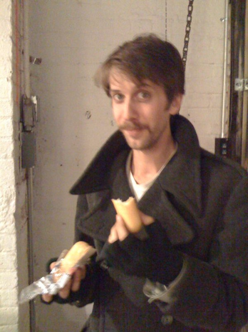 Ben tries his very first Twinkie.