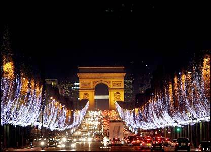 Christmas in Paris!