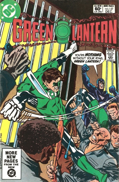 Green Lantern #147 by Marv Wolfman, Joe Staton and Mike DeCarlo
